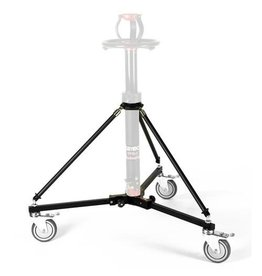 Cambo Cambo dolly VPD-9 for Pedestal especially for the VPS-1 this compact lightweight foldable dolly has been designed to allow for camera positions as low as possible, while the 35cm reach of the VPS-1 is maintained. For a higher reach we offer extensions o