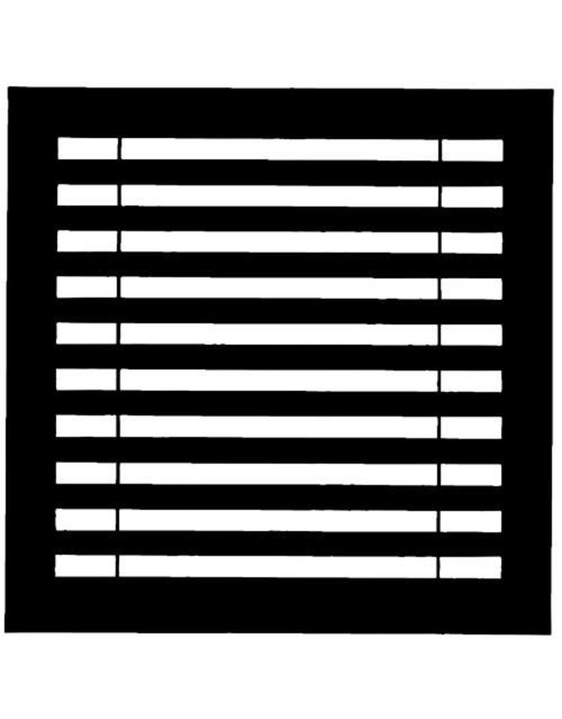 Chimera Chimera Horizontal Blinds Window Pattern for Frame