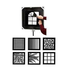 Chimera 5442  Series II Window Pattern Kit 42x42""