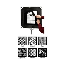 Chimera 5445 Urban Window Pattern Kit 42x42""