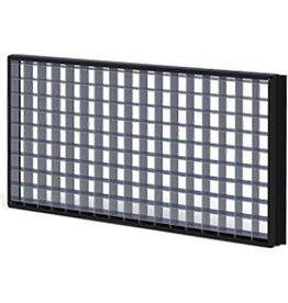 Cineo Lighting Cineo HS louver 90°, Black anodized aluminum