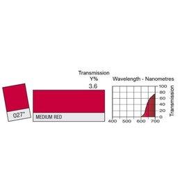 Lee Lee Kleurenfilter 027 Medium Red (0,53m x 1,22m)