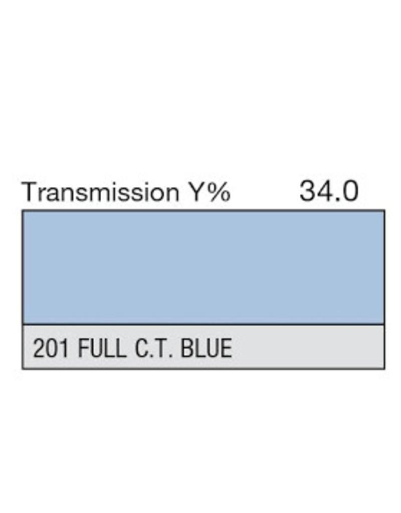 Lee Lee Kleurfilters Vel 201 - 1/1  CT Blauw