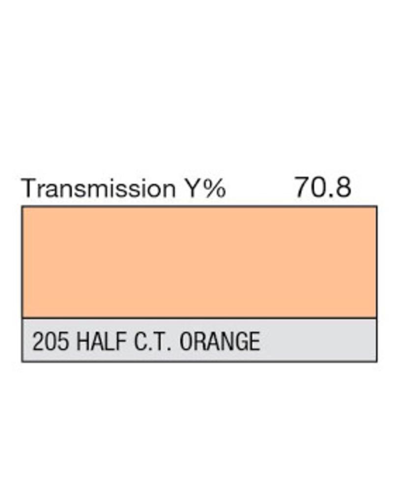 Lee Lee Kleurfilters Vel 205 - 1/2 CT Oranje