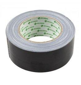 Nichiban Gaffer tape Nichiban 50mm / 25 mtr. Zwart