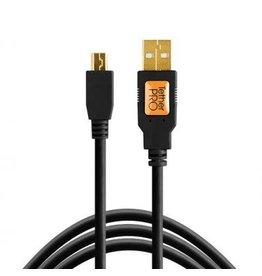 TetherTools TetherTools TetherPro USB 2.0 Male to Mini-B 5 pin (15ft/4.6m) Black