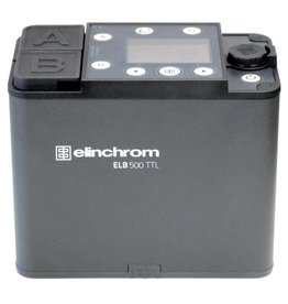 Elinchrom ELB 500 TTL Flash unit without Battery