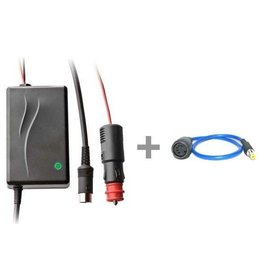 Elinchrom Car Lead Battery Charger w/ 19285 RQ adapter
