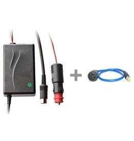 Elinchrom Elinchrom Auto acculader for Gel/ Lead batterys + EL19285 RQ adapter