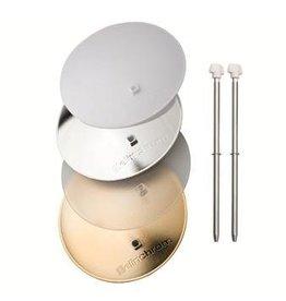 Elinchrom Deflectorset 4 delig (zilver, goud, translucent, ijs)