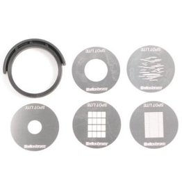 Elinchrom Elinchrom Gobo Mask Set (5) for Elinchrom Minispot