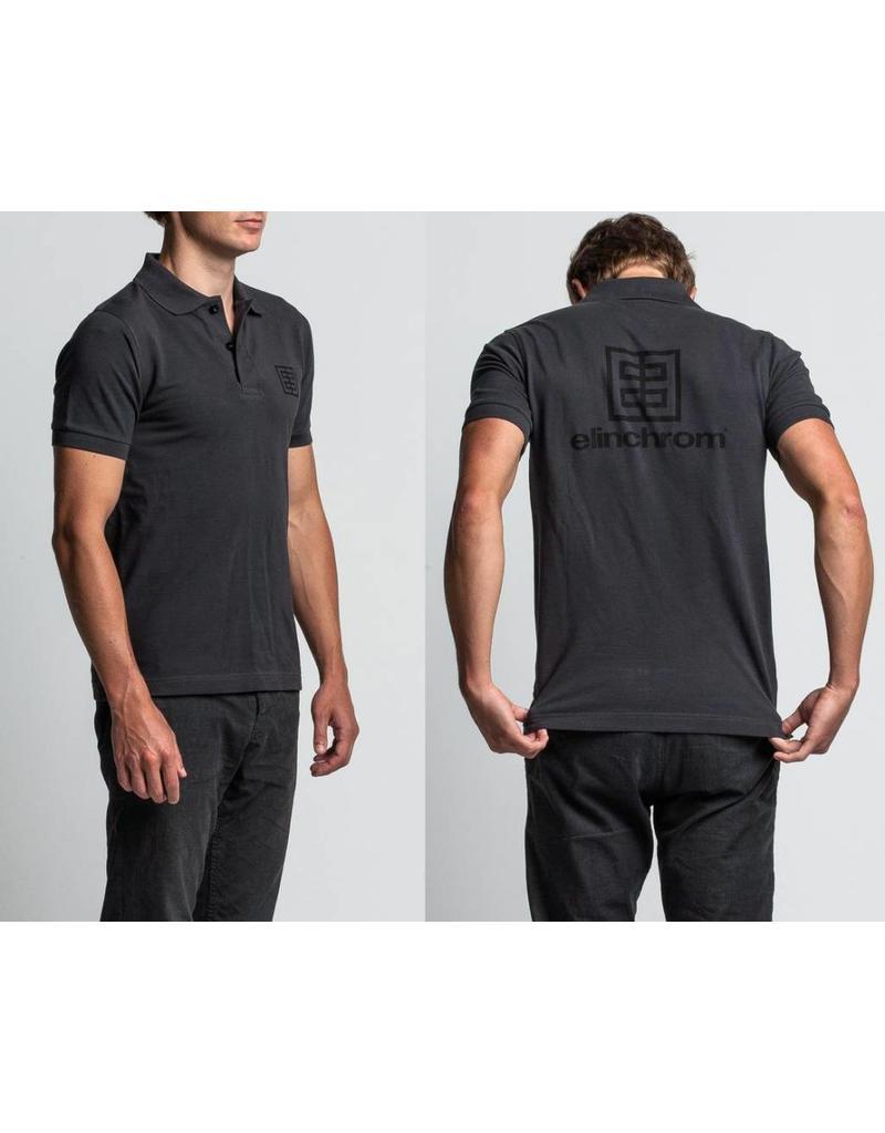 Elinchrom Elinchrom EL Dark Grey Polo Shirt (L) - 100% cotton