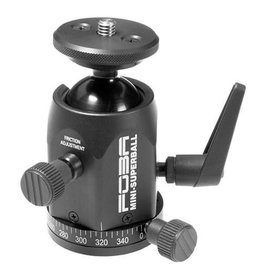 """Foba Studio Technology Foba MINI-SUPERBALL with camera plate, 3/8"""" and 1/4"""" thread and panorama plate"""