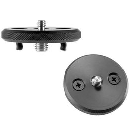 "Foba Studio Foba Camera plate for MINI-SUPERBALL, 3/8"" and 1/4"" thread"