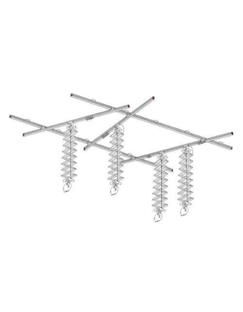 Foba Studio Technology Ceiling rails, maxi kit 3 x 6 m, ROOF-TRACK