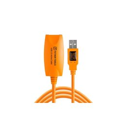 TetherTools TetherPro USB 3.0 SuperSpeed Active Extension Cable (16ft-5m) Orange