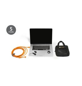 TetherTools Starter Tethering Kit w/ USB 3.0 Micro-B Right Angle Cable Right 15' BLK