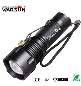 Warsun Zaklamp Oplaadbaar Tactical Torch LED Warsun ( Outdoor)