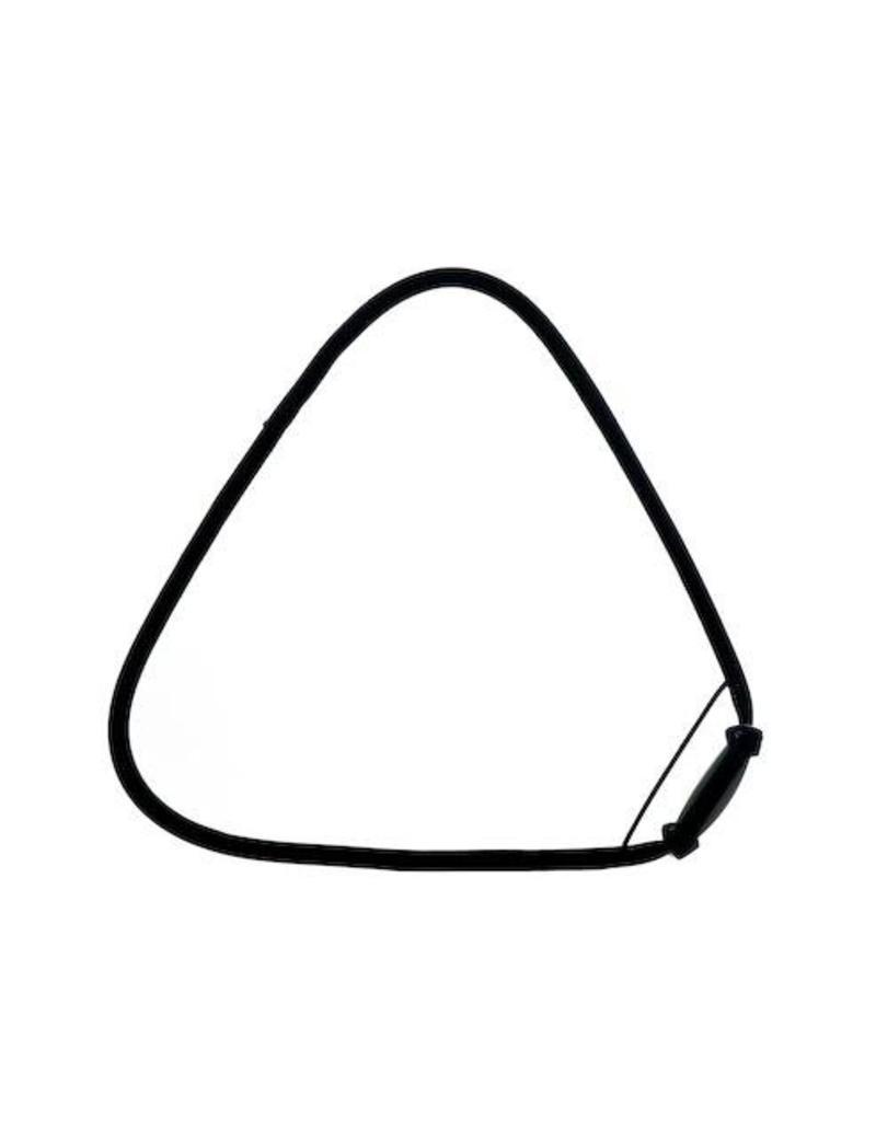 Trigrip twistfold reflector Transparant ø 80 cm.