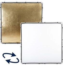 Lastolite Lastolite Skylite rapid fabric large 200x200cm gold/silver