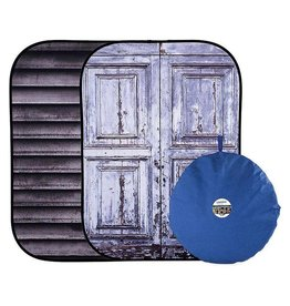 Lastolite Lastolite Urban collapsible background 150x210cm shutter/distressed door