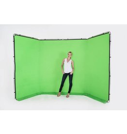 Lastolite Lastolite Panoramic background 400cm cover chromakey green