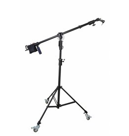 Cameleon Heavy Duty Light stand met boom + crank & dolly