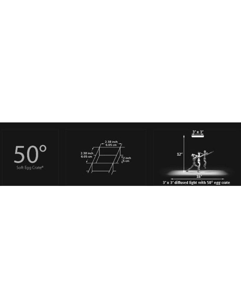 LightTools Lighttools Grid 50° voor Rotalux Strip 50 x 130cm