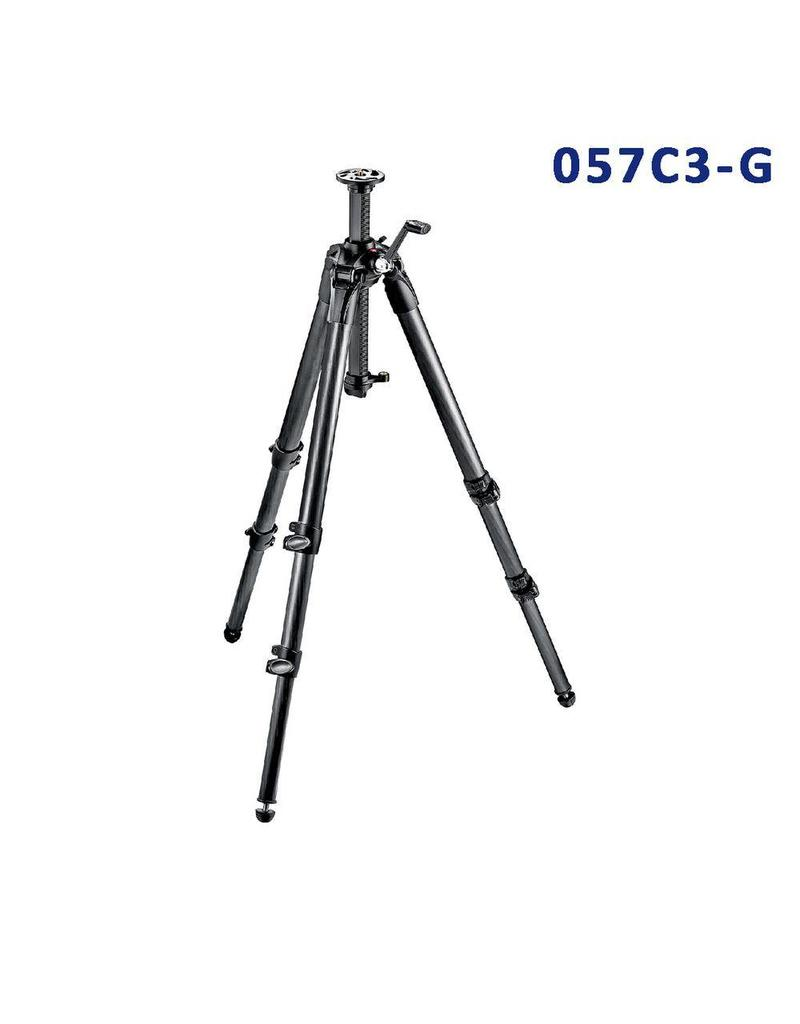 Manfrotto Carbon Fiber Tripod 3 Sections Geared