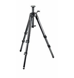 Manfrotto MT057C3-G Carbon Fiber Tripod 3 Sections Geared