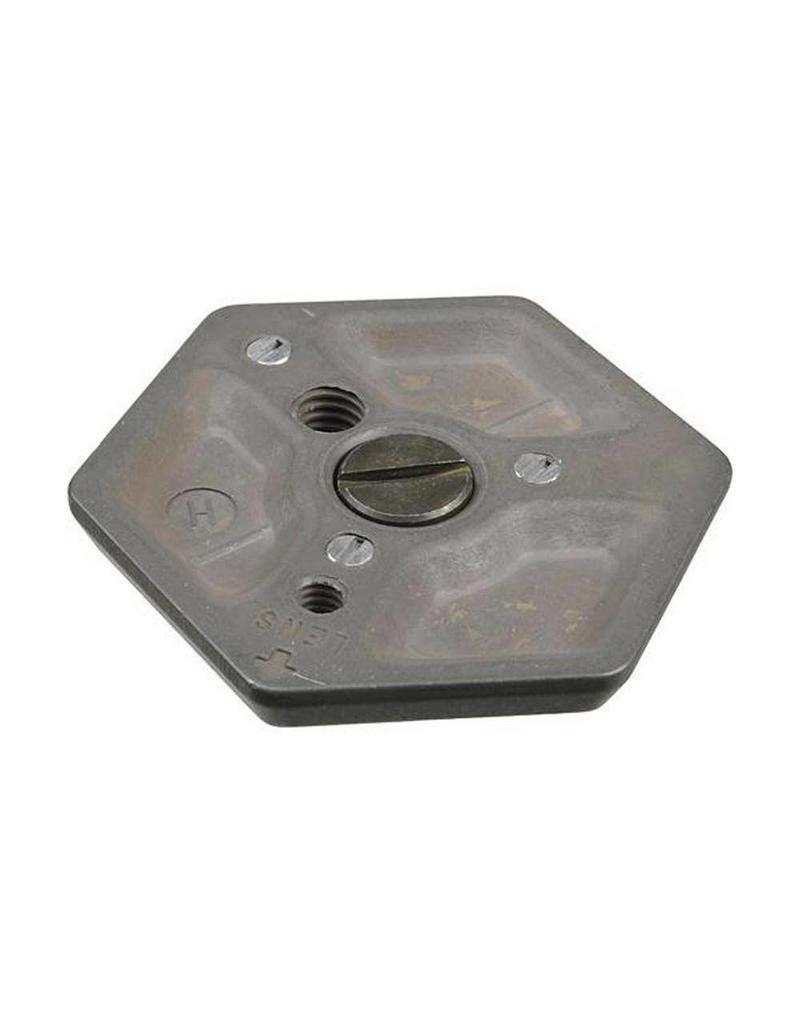 Manfrotto Manfrotto 130-38  Assy Plate For 029 and 136, 3/8''
