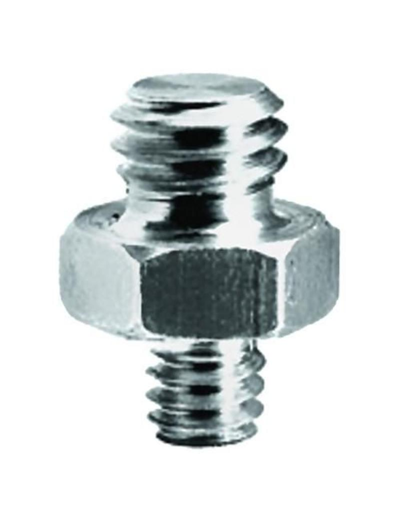 "Manfrotto Manfrotto 147 Adapter Spigot met 3/8"" + 1/4"" schroef"