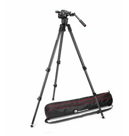 Manfrotto Manfrotto Nitrotech N8 video head w/ CF Single Legs Tripod