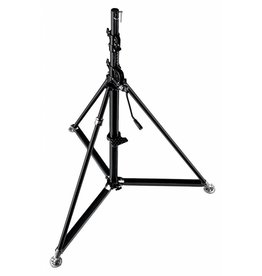 Manfrotto 387XBU Super Wind Up  Stand Steel Black
