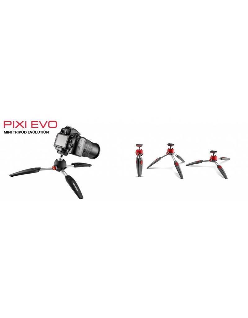 Manfrotto Manfrotto Pixi EVO Mini Tripod White | MTPIXIEVO-WH