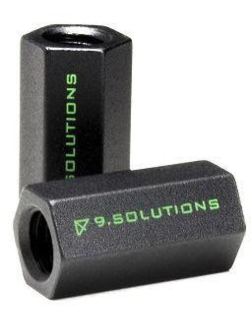 "9.Solutions 9.Solutions 3/8"" Finger Nut and Connecting Nut"
