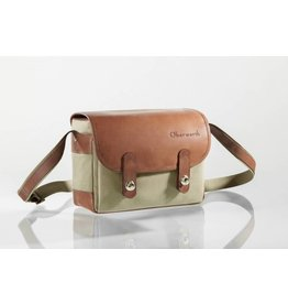 Oberwerth Oberwerth Camerabag Freiburg | Cordura beige \ leather brown