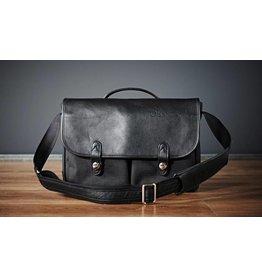 Oberwerth Oberwerth Camera bag  München | Cordura black \ leather black