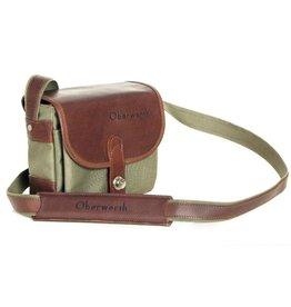 Oberwerth Oberwerth Camera bag Bayreuth | Cordura olive / leather dark brown