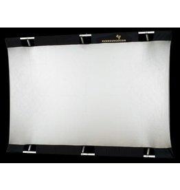 Sunbounce Sunbounce Pro kit frame + scherm zilver / wit 130 x 190 cm