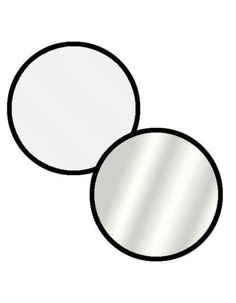 Twistfold Reflectiescherm ø 106 cm Zilver / Wit