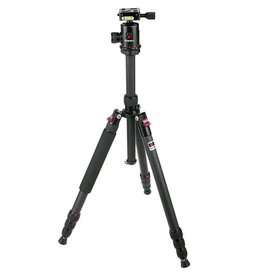 Redged Travel Tripod Kit Carbon TSC-425K