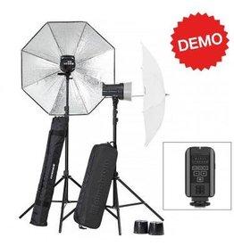 Elinchrom Demo Elinchrom D-Lite RX 2 To Go Set met Paraplu's