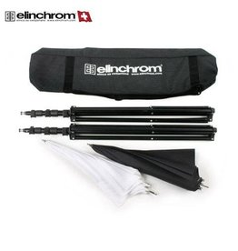 Elinchrom Elinchrom Quick lock Statiefset + 2 Paraplu's + Tas