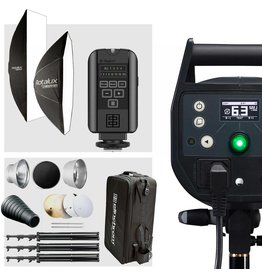 Elinchrom ELC PRO HD 500 Triple Studio PLUS Set