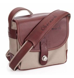 Oberwerth Oberwerth Camera bag Bayreuth | Cordura beige / leather light brown