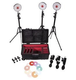 Rotolight 3 x NEO 2 lampen in Koffer + accessoires