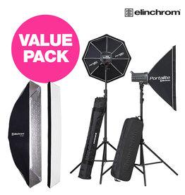 Elinchrom D-Lite RX 4/4 To Go + VALUE Pack promo