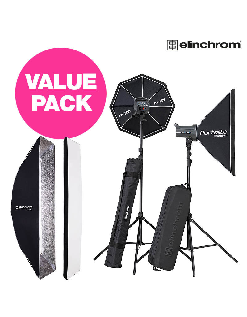 Elinchrom Starter Value Pack D-Lite RX 4/4