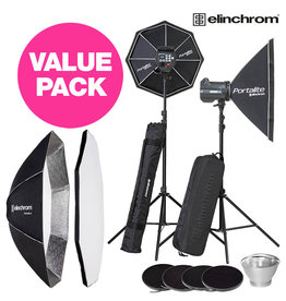 Elinchrom BRX 500 / 500 Studio VALUE Pack Promo